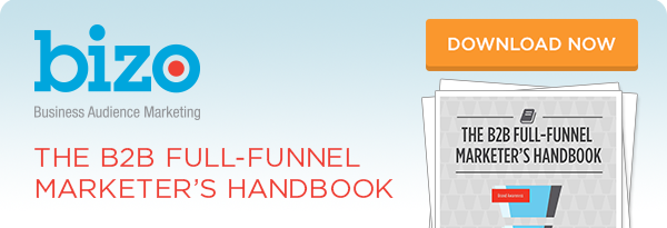 Bizo | The B2B Full-Funnel Marketer's Handbook