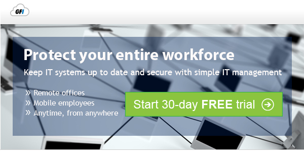 Protect your mobile workforce Keep remote devices up to date and secure with simple IT management