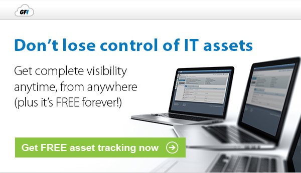 Don't lose control of IT assets