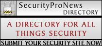 SecurityProNews Directory: A Directory For All Things Security