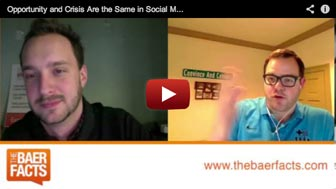 Opportunity and Crisis Are the Same in Social Media - Baer Facts Episode 15