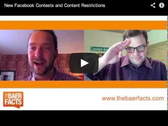 New Facebook Contests and Content Restrictions