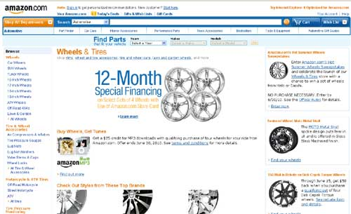 Amazon-Wheels-Store
