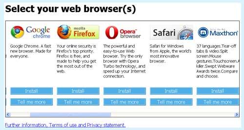 Browser-Choice-Screen