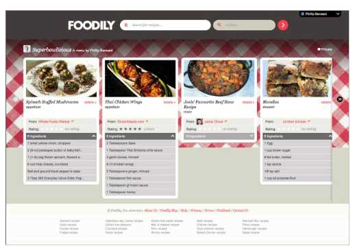 Foodily-Facebook