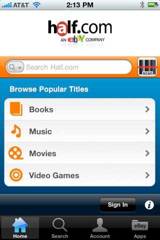 Half-iPhone-App