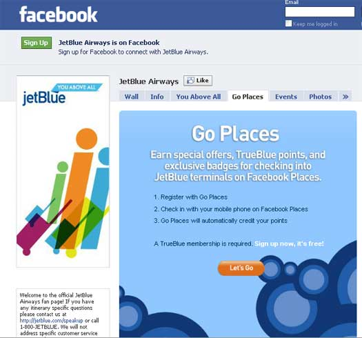 JetBlue-Facebook