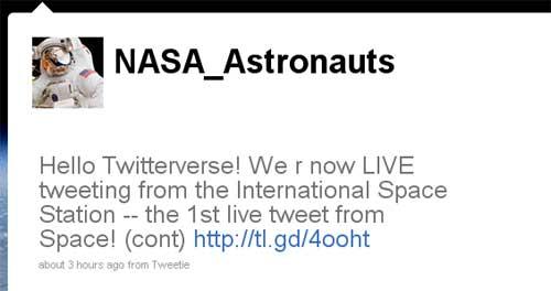 NASA-Twitter