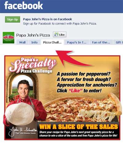 Papa-John's-Facebook
