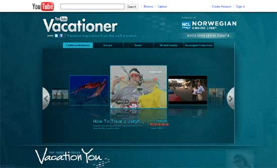YouTube-Vacationer