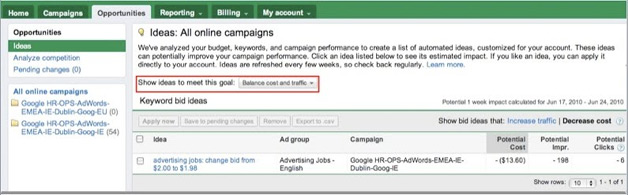New Options for Goals in AdWords