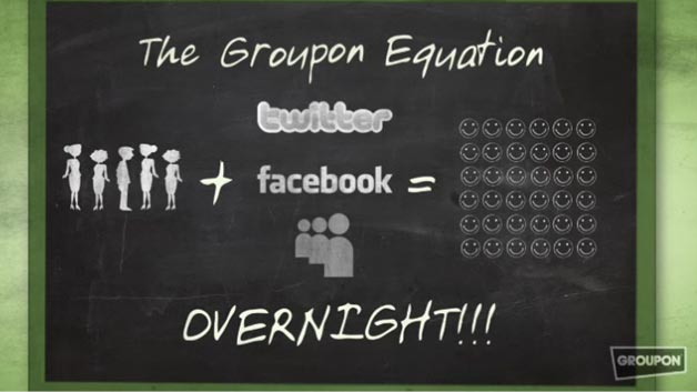 The Groupon Equation, according to Groupon