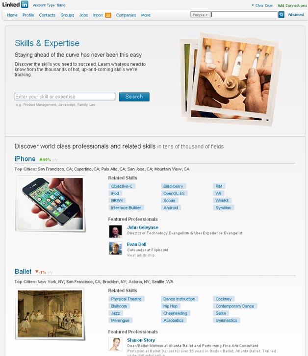 LinkedIn Skills in Beta