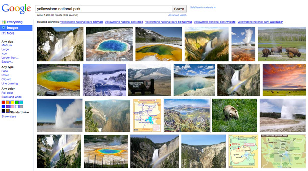Google Has a New Image Search design