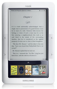 Barnes & Noble Introduces new Wi-Fi version of Nook