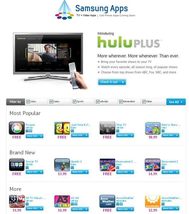 2 Million Apps Downloaded for Samsung Smart TVs
