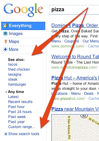 Search Options Redesigned