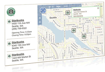 WhitePages Launches New Store Locator feature