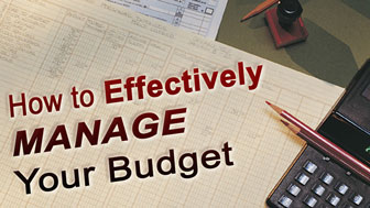 How to Effectively Manage Your Budget