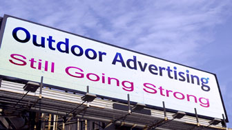 Outdoor Advertising Still Going Strong