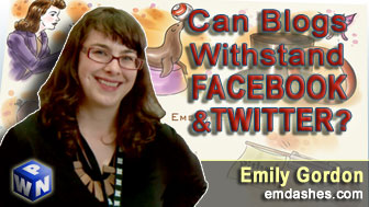 Can Blogs Withstand Facebook and Twitter?
